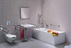 Оборудованная ванная комната