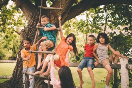 верёвочная лестница для детей