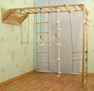 верёвочная лестница дома