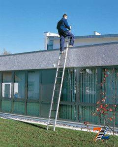 Легкая профессиональная лестница из алюминия