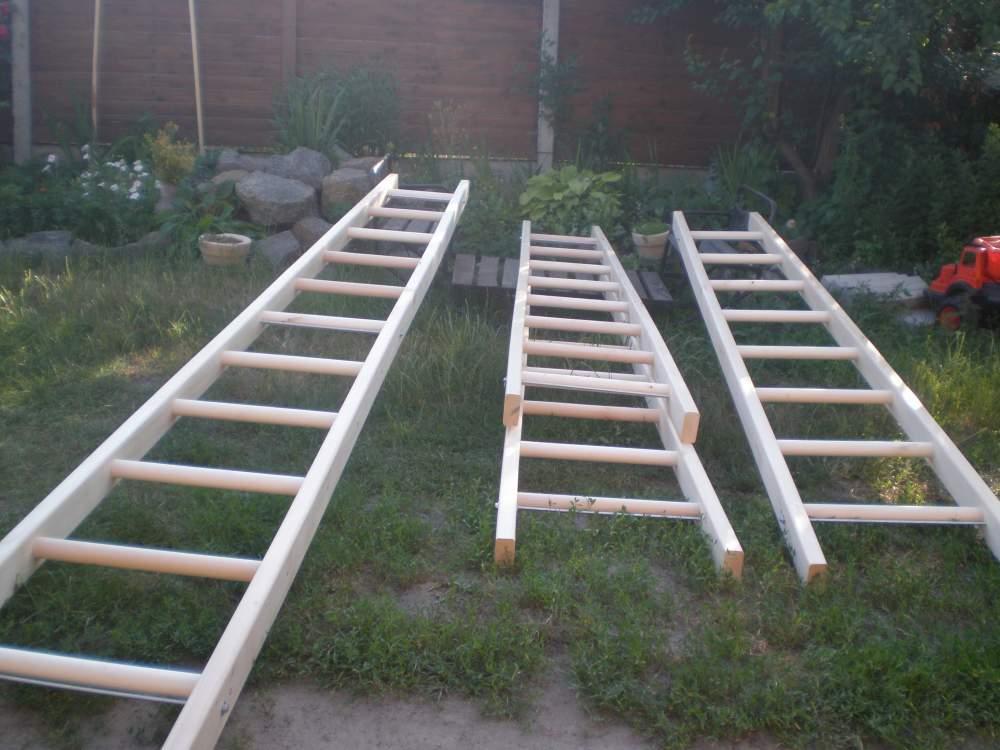 Длина приставной лестницы