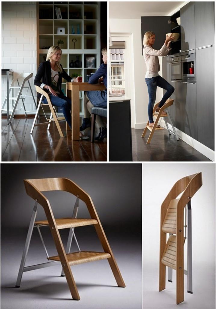 Дизайнерская стремянка стул