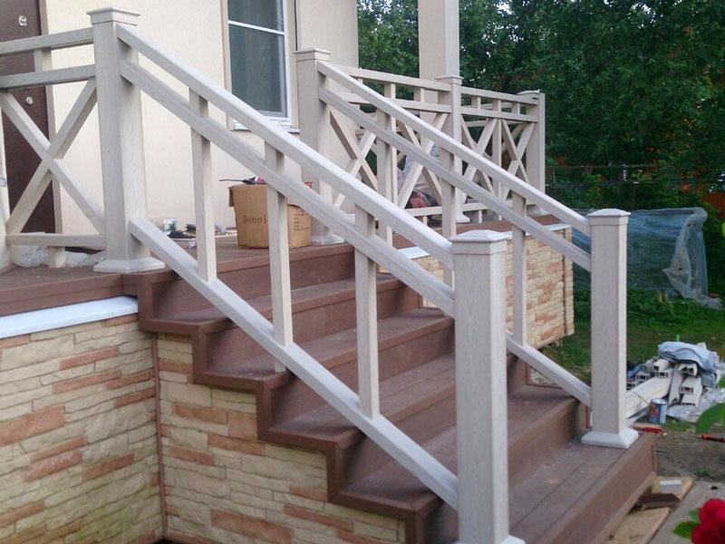 перила для лестницы террасы