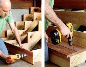 Как самому сделать правильную лестничную конструкцию