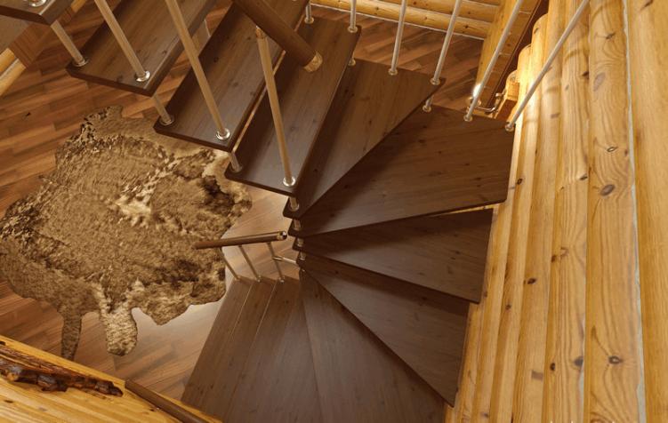 Лестница модульной конструкции